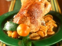 Roast Chicken with Mandarin Oranges recipe