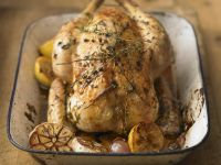 Roast Chicken with Thyme recipe