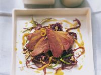 Roast Duck Breast with Red Cabbage recipe