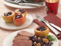 Roast Duck Dinner recipe