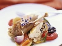 Roast Guinea Fowl with Stuffing recipe