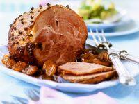 Roast Ham with Apricots recipe