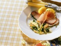 Roast Ham with Vegetables