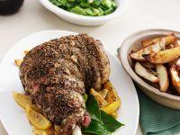 Roast Lamb Leg recipe