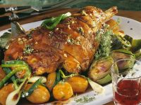 Spring-time Lamb Roast recipe