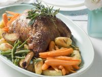 Roast Lamb with Carrots and Potatoes recipe