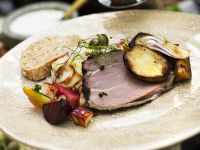 Roast Lamb with Mixed Vegetables recipe