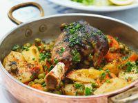 Roast Lamb with Potatoes recipe