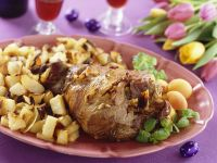 Roast Lamb with Vegetables recipe