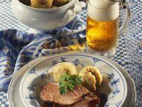 Roast Pork and Dumplings recipe