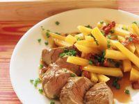 Roast Pork Loin with Swede recipe