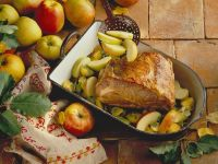 Roast Pork with Apples and Celery recipe