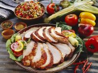 Sliced Pork with Chopped Salad recipe