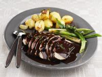Pork with Piquant Berry Gravy recipe