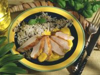 Roast Pork with Curry Sauce and Wild Rice recipe