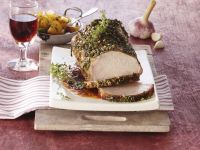 Roast Pork with Fennel and Herbs recipe