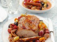 Roast Pork with Fruit recipe