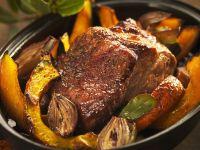 Rib Roast with Autumn Vegetables