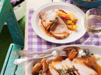 Roast Pork with Shallots recipe