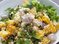 Roast Pumpkin, Chickpea and Rocket Salad recipe