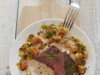Roast Saddle of Lamb with Root Vegetables recipe