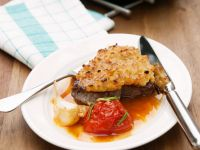 Roast Steaks with Tomatoes recipe