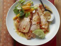 Roast Suckling Pig with Coriander Carrots recipe