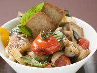 Roast Tofu with Wild Mushrooms recipe