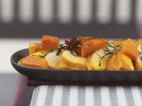Roast Turkey Breast with Pumpkin and Cream Sauce recipe