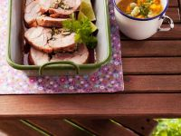 Roast Turkey with Curried Apricot Sauce recipe