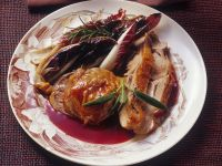 Roast Turkey with Pomegranate Glaze recipe