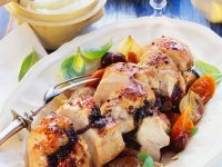 Roast Turkey with Vegetables and Mashed Potatoes recipe