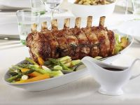 Rack of Young Beef with Spring Veg recipe