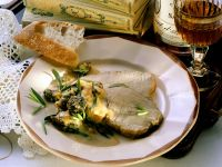 Roast Veal with Morel Mushrooms recipe