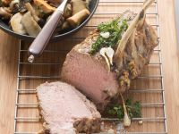 Roast Veal with Mushrooms recipe