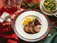 Roast Venison Dinner recipe