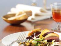 Roast Venison with Lentils recipe