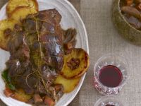 Roast Wild Boar with Quince recipe