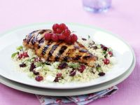Roasted Chicken and Couscous with Fruit recipe