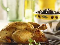 Roasted Chicken with Herbs and Lemon recipe