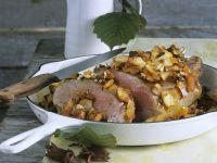 Roasted Lamb Shoulder with Hazelnut recipe