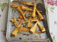 Roasted Parsnips with Thyme recipe