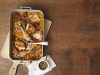 Roasted Pheasant with Pumpkin recipe
