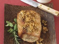 Roasted Pork Loin with Herb Paste recipe