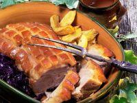 Roasted Pork with Gravy recipe