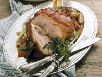 Roasted Pork with Vegetables recipe