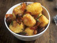 Herby Golden Potatoes recipe