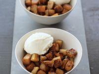 Sweet Pumpkin Cube Dessert recipe