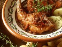 Roasted Rabbit with Potatoes recipe