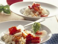 Roasted Red Pepper Risotto recipe